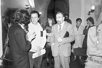 Stefania Gardecka, Tadeusz Burzyński i Janusz Degler