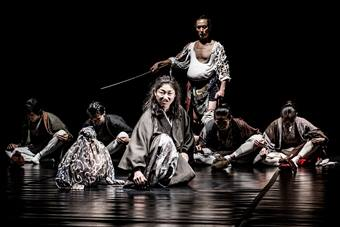 """Trojanki"", spektakl Tadashiego Suzuki i Suzuki Company of Toga; 15"