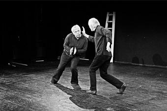 Giennadij Bogdanow i Aleksiej Lewinski – pokaz pracy, fot. Jacek Świątek