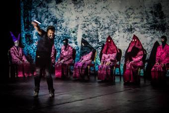 """""""Ewangelia"""", spektakl Pippa Delbono i Compagnia Pippo Delbono; 26 październi"""