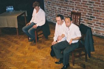 Mario Biagini, Grzegorz Ziółkowski, Thomas Richards