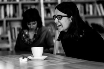 """""""Forum reżyserów"""", na zdjęciu: Iwona Kempa; 21–25 października 2017. Fot. Ma"""