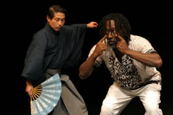 Akira Matsui i Augusto Omolú – improwizacje
