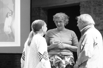 Rena Mirecka, María Isabel González Múñoz, Mieczysław Janowski; wykład mistr