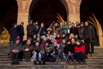 VI zjazd Aty, na zdjęciu: uczestnicy2 lutego 2016. Fot. Eduardo González Cámara