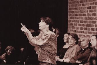 Iben Nagel Rasmussen – spotkanie z Eugeniem Barbą i zespołem Odin Teatret