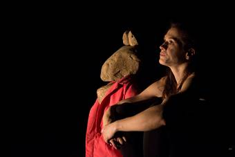 """kamica79"", spektakl Marty Grygier; 17 marca 2017. Fot. Eduardo González Cámara"