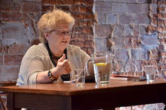 """Krystyna Duniec, konferencja """"Wielka? Reforma? Teatru?"""", Wrocław 8 czerwca 2013,"""