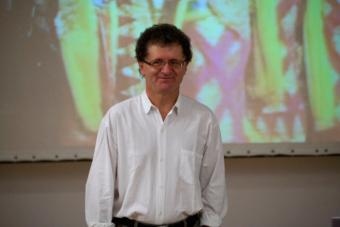 Mirosław Kocur w czasie seminariów letnich OUP we wrześniu 2011
