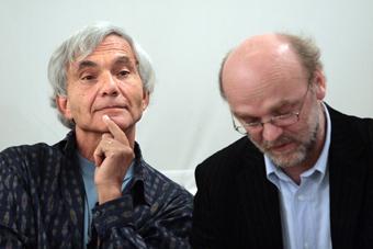 Eugenio Barba i Leszek Kolankiewicz. Spotkanie poświęcone książce Eugenio Barby