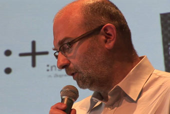 """Dariusz Kosiński, konferencja """"Grotowski Osińskiego. Monografia – Dzisiaj"""", Inst"""
