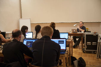 Seminarium Jona McKenzie, letnie seminaria OUP 2012, fot. Irena Lipińska