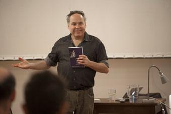 Jon McKenzie, letnie seminaria OUP 2012, fot. Irena Lipińska