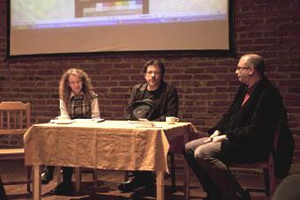 Spotkanie wokół Raptularza kijowskiego Osterwy, Wrocław 29.11.2010, na zdjęciu: