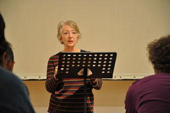 Maria Shevtsova, letnie seminaria OUP 2011, fot. Magdalena Mądra