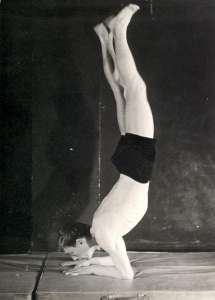 """Training at the Laboratory Theatre"", Opole 1964"