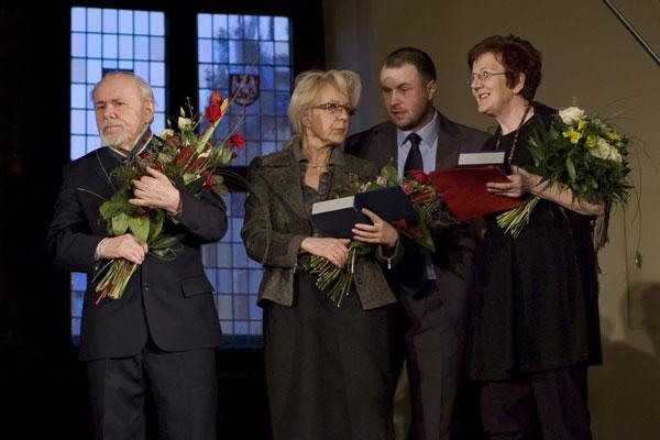 Inauguracja Roku Grotowskiego, wręczenie Medali Gloria Artis