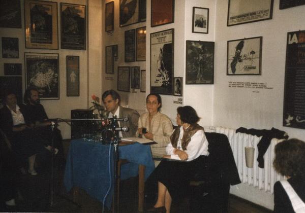 Od lewej: Zbigniew Osiński i Michelle Kokosowski