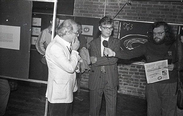 Od lewej: Jerzy Gurawski, Zbigniew Osiński, Jarosław Broda