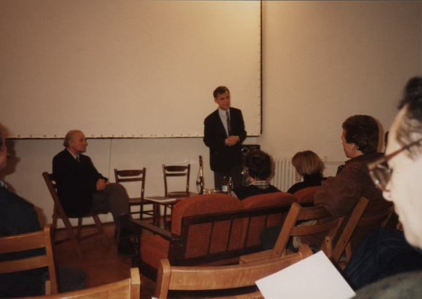 Od lewej: Aleksander Jackowski, Zbigniew Osiński