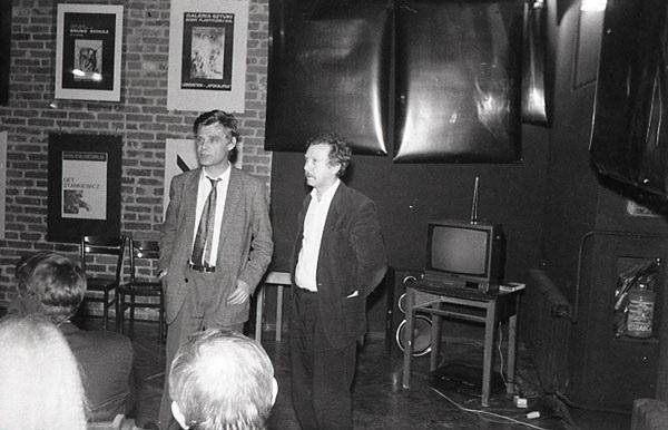 Od lewej: Zbigniew Osiński, Leszek Mądzik