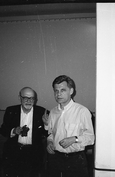 Od lewej: Jerzy Prokopiuk, Zbigniew Osiński