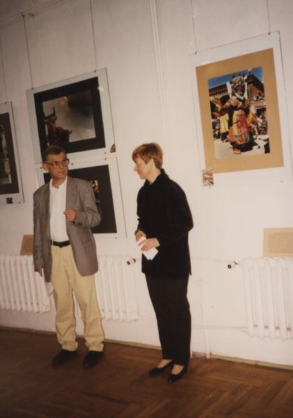 Od lewej: Zbigniew Osiński, Elżbieta Dziuk