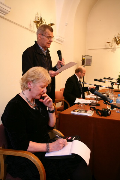 Od lewej: Jenna Kumiega, Zbigniew Osiński, Leszek Kolankiewicz