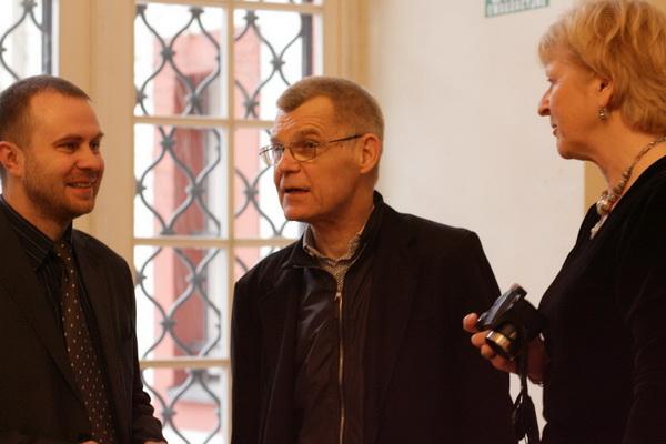 From left: Jarosław Fret, Zbigniew Osiński, Jenna Kumiega