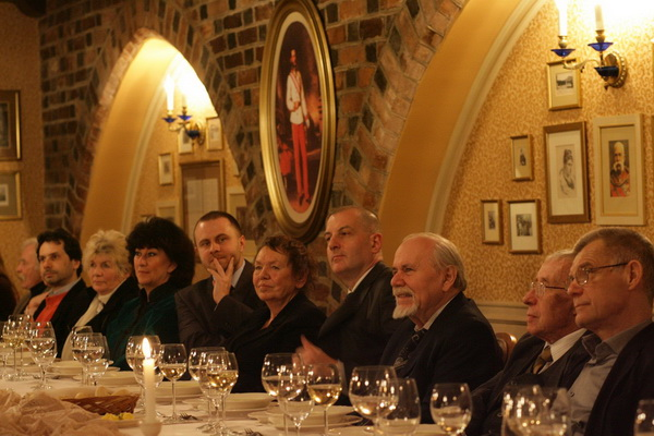 Od lewej: Zbigniew Kozłowski, Giuliano Campo, Else Marie Laukvik, Marianne Ahrne