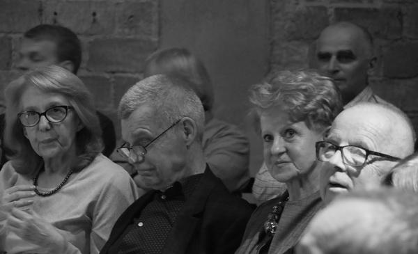 Od lewej: Ewa Oleszko-Molik, Zbigniew Osiński, Urszula Gessig, Stanisław Krotosk
