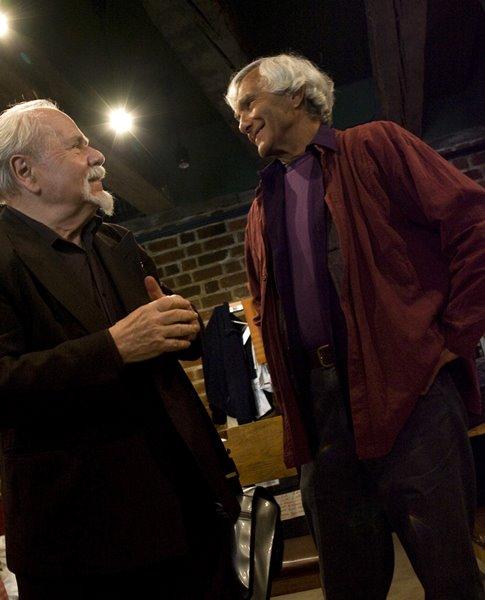 Od lewej: Ludwik Flaszen i Eugenio Barba