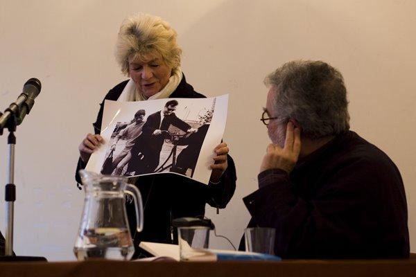 Od lewej: Else Marie Laukvik, Georges Banu