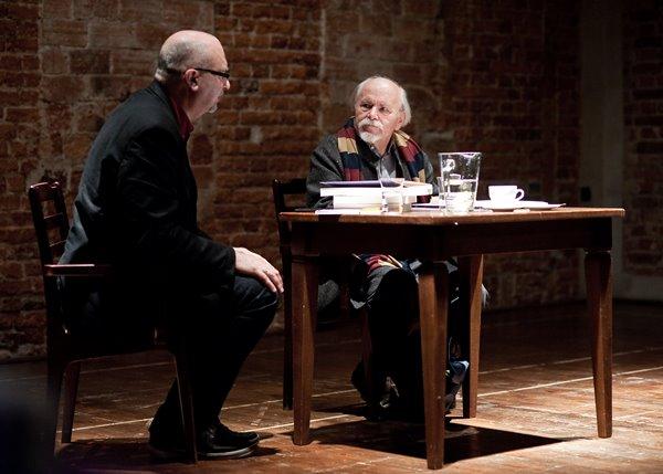Od lewej: Dariusz Kosiński, Ludwik Flaszen
