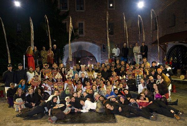 Zespół Ur-Hamleta, spektakl Odin Teatret pokazywany w ramach Międzynarodowego Fe