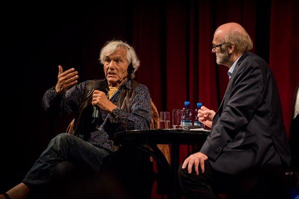 Od lewej: Eugenio Barba, Leszek Kolankiewicz