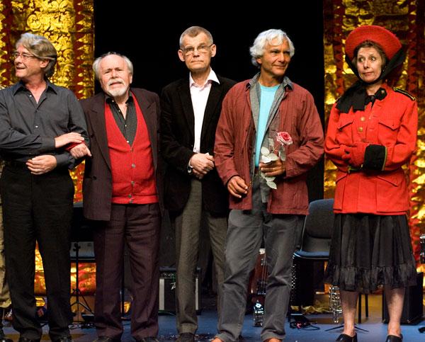 Spotkanie po spektaklu The first stone. Ceremonia powrotu, Odin Teatret, reż. Eu