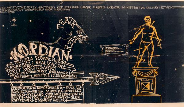 Plakat Kordian, 1962