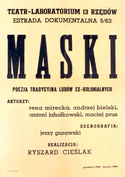 Afisz Maski