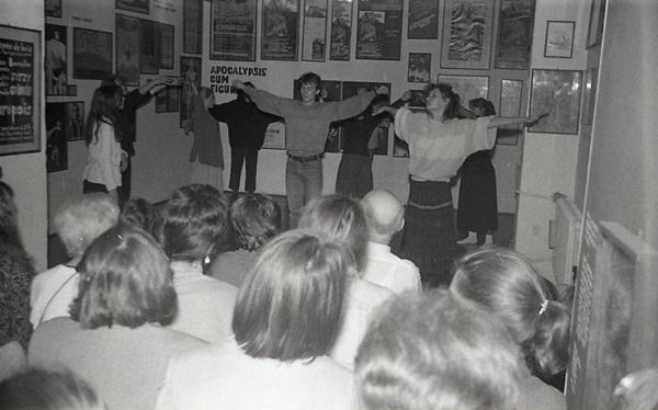 Pokaz ćwiczeń aktorskich według metody Michaiła Czechowa