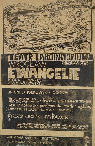 Plakat do Ewangelii, 1967