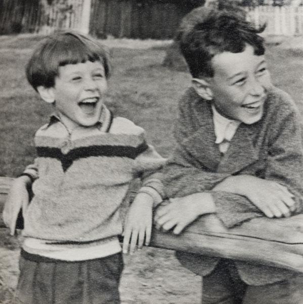 Jerzy i Kazimierz Grotowscy, Nienadówka 1941