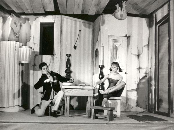 Adam Kurczyna i Barbara Barska w Orfeuszu