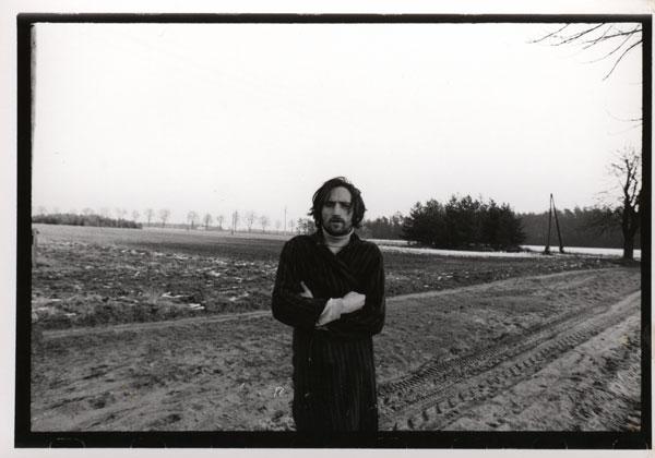 Andrzej Paluchiewicz w okolicach Brzezinki, pierwsza połowa lat 70