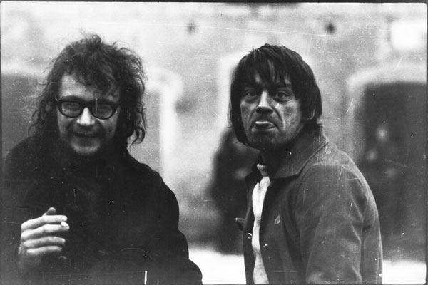 Jerzy Grotowski i Ryszard Cieślak w Brzezince