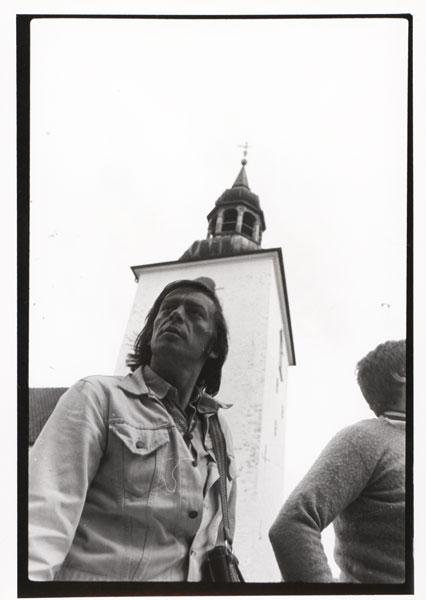 Ryszard Cieślak w czasie pobytu w Danii