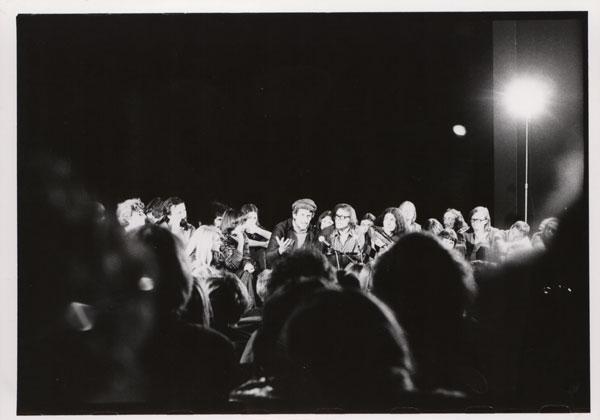 Spotkanie z André Gregorym w czasie Uniwersytetu Poszukiwań Teatru Narodów