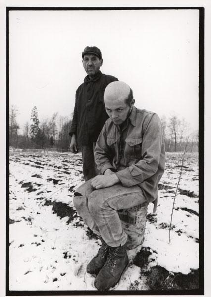 Józef Graczyk i Wiesław Hoszowski, Brzezinka ok. 1972
