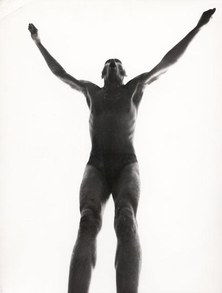 Zygmunt Molik w Brzezince, początek lat 70