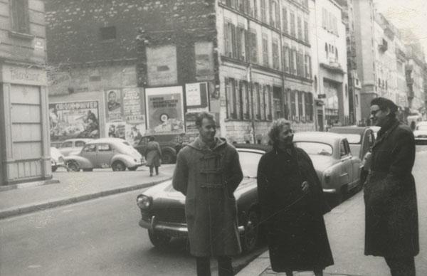 Jerzy Grotowski, Paryż 1957